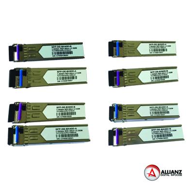 SFP TRANSCEIVER 1.25, 10, GP/S CWDM, 20KM, 40KM, 60KM CWDM MUX